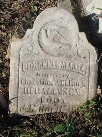 HERMANSEN, JOHANNE MARIE (CLOSE UP) - Lincoln County, South Dakota | JOHANNE MARIE (CLOSE UP) HERMANSEN - South Dakota Gravestone Photos