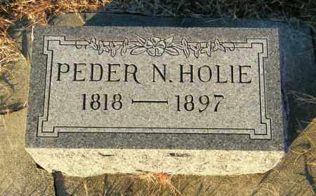 HOLIE, PEDER N - Lincoln County, South Dakota   PEDER N HOLIE - South Dakota Gravestone Photos