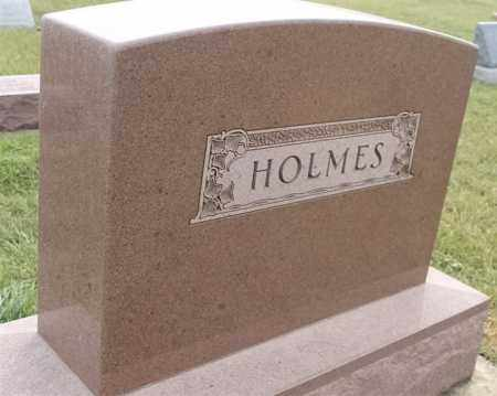 HOLMES FAMILY PLOT, OSCAR - Lincoln County, South Dakota | OSCAR HOLMES FAMILY PLOT - South Dakota Gravestone Photos