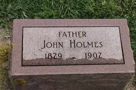 HOLMES, JOHN - Lincoln County, South Dakota | JOHN HOLMES - South Dakota Gravestone Photos