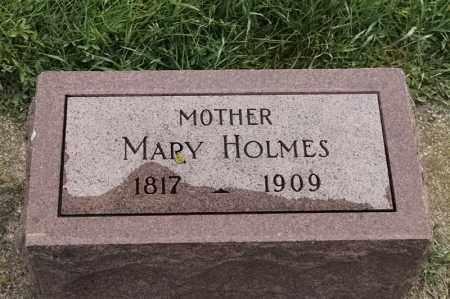 HOLMES, MARY - Lincoln County, South Dakota | MARY HOLMES - South Dakota Gravestone Photos