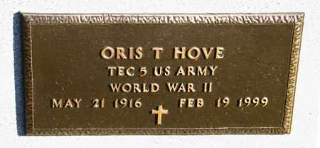 HOVE, ORIS T - Lincoln County, South Dakota | ORIS T HOVE - South Dakota Gravestone Photos