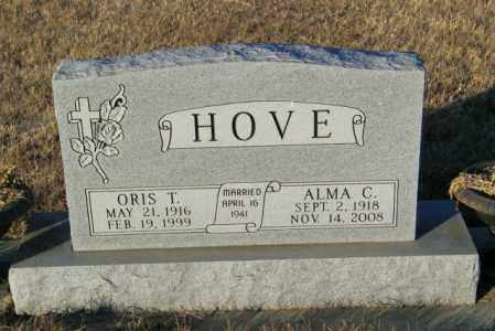 HOVE, ORIS T - Lincoln County, South Dakota | ORIS T HOVE - South Dakota Gravestone Photos