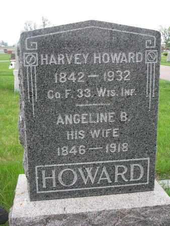 HOWARD, ANGELINE B. - Lincoln County, South Dakota | ANGELINE B. HOWARD - South Dakota Gravestone Photos