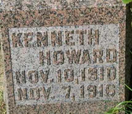HOWARD, KENNETH - Lincoln County, South Dakota | KENNETH HOWARD - South Dakota Gravestone Photos