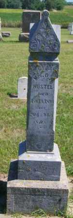 HUSTEL, MRS. O.H. - Lincoln County, South Dakota | MRS. O.H. HUSTEL - South Dakota Gravestone Photos