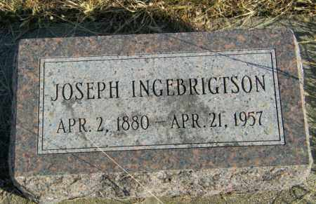 INGEBRIGTSON, JOSEPH - Lincoln County, South Dakota | JOSEPH INGEBRIGTSON - South Dakota Gravestone Photos
