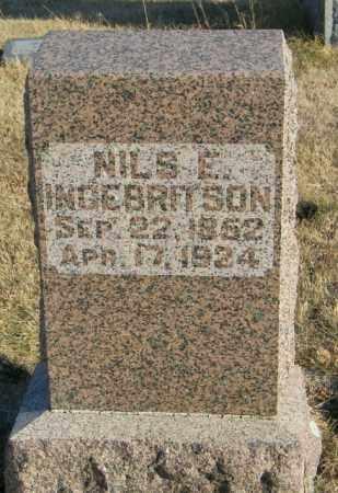 INGEBRITSON, NILS E - Lincoln County, South Dakota | NILS E INGEBRITSON - South Dakota Gravestone Photos