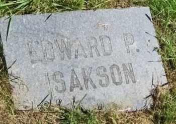 ISAKSON, EDWARD P. - Lincoln County, South Dakota | EDWARD P. ISAKSON - South Dakota Gravestone Photos