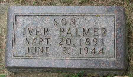 IVERSON, IVER PALMER - Lincoln County, South Dakota   IVER PALMER IVERSON - South Dakota Gravestone Photos