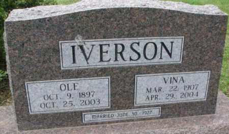 IVERSON, OLE - Lincoln County, South Dakota   OLE IVERSON - South Dakota Gravestone Photos