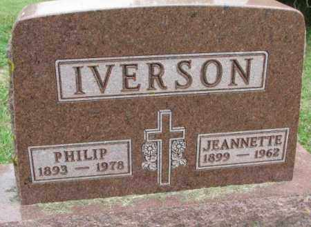 IVERSON, JEANNETTE - Lincoln County, South Dakota | JEANNETTE IVERSON - South Dakota Gravestone Photos