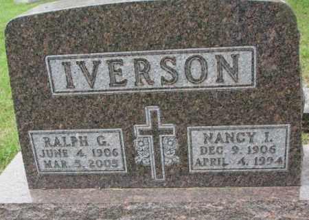 IVERSON, NANCY I. - Lincoln County, South Dakota | NANCY I. IVERSON - South Dakota Gravestone Photos