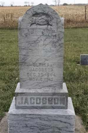 JACOBSON, ULRIKA - Lincoln County, South Dakota | ULRIKA JACOBSON - South Dakota Gravestone Photos
