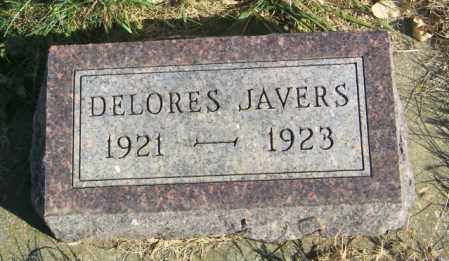 JAVERS, DELORES - Lincoln County, South Dakota | DELORES JAVERS - South Dakota Gravestone Photos
