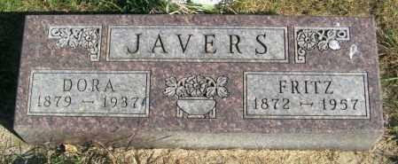 JAVERS, DORA - Lincoln County, South Dakota | DORA JAVERS - South Dakota Gravestone Photos