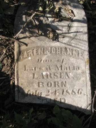 LARSEN, KAREN JOHANNE - Lincoln County, South Dakota   KAREN JOHANNE LARSEN - South Dakota Gravestone Photos
