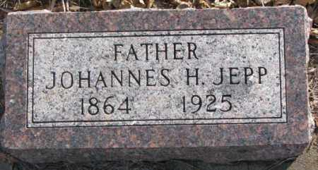 JEPP, JOHANNES H. - Lincoln County, South Dakota | JOHANNES H. JEPP - South Dakota Gravestone Photos
