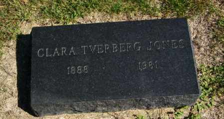 JONES, CLARA - Lincoln County, South Dakota | CLARA JONES - South Dakota Gravestone Photos