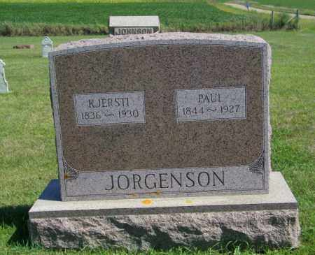 JORGENSON, KJERSTI - Lincoln County, South Dakota | KJERSTI JORGENSON - South Dakota Gravestone Photos