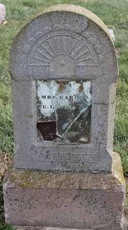 KARON, MRS - Lincoln County, South Dakota | MRS KARON - South Dakota Gravestone Photos