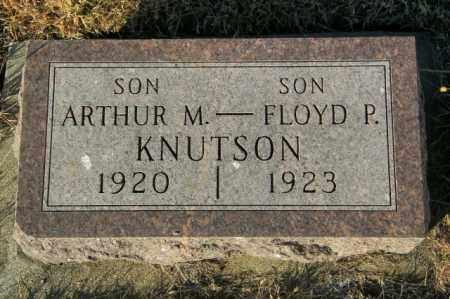 KNUTSON, ARTHUR M - Lincoln County, South Dakota | ARTHUR M KNUTSON - South Dakota Gravestone Photos