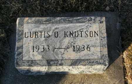KNUTSON, CURTIS O - Lincoln County, South Dakota   CURTIS O KNUTSON - South Dakota Gravestone Photos