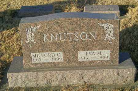 KNUTSON, EVA M - Lincoln County, South Dakota | EVA M KNUTSON - South Dakota Gravestone Photos