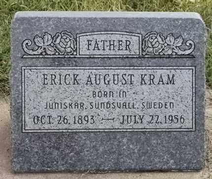 KRAM, ERICK AUGUST - Lincoln County, South Dakota | ERICK AUGUST KRAM - South Dakota Gravestone Photos