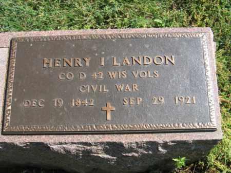 LANDON, HENRY I - Lincoln County, South Dakota | HENRY I LANDON - South Dakota Gravestone Photos