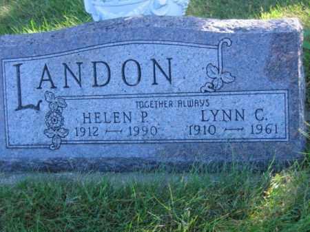LANDON, LYNN C - Lincoln County, South Dakota | LYNN C LANDON - South Dakota Gravestone Photos