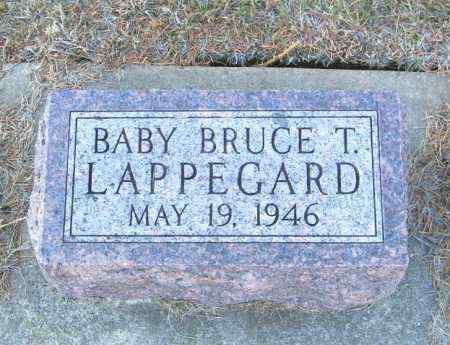LAPPEGARD, BRUCE T - Lincoln County, South Dakota | BRUCE T LAPPEGARD - South Dakota Gravestone Photos
