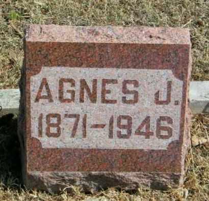 LARSEN, AGNES J - Lincoln County, South Dakota   AGNES J LARSEN - South Dakota Gravestone Photos