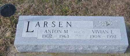 LARSEN, ANTON M - Lincoln County, South Dakota | ANTON M LARSEN - South Dakota Gravestone Photos