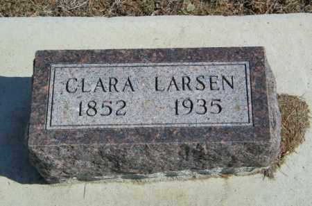 LARSEN, CLARA - Lincoln County, South Dakota | CLARA LARSEN - South Dakota Gravestone Photos
