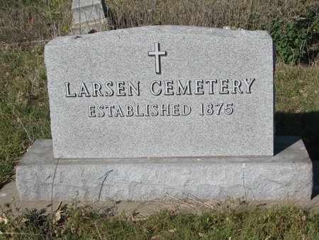 **LARSEN, NOTES - Lincoln County, South Dakota | NOTES **LARSEN - South Dakota Gravestone Photos