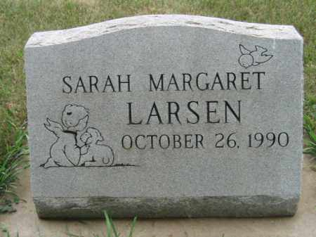 LARSEN, SARAH MARGARET - Lincoln County, South Dakota | SARAH MARGARET LARSEN - South Dakota Gravestone Photos