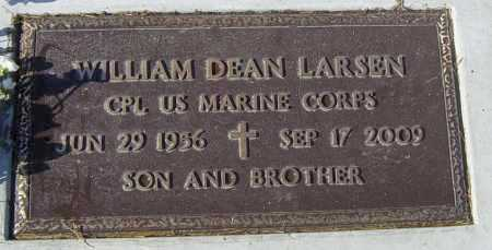 LARSEN, WILLIAM DEAN - Lincoln County, South Dakota | WILLIAM DEAN LARSEN - South Dakota Gravestone Photos