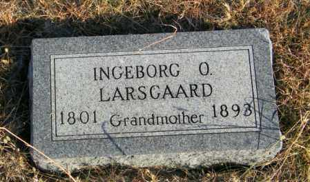 LARSGAARD, INGEBORG O - Lincoln County, South Dakota | INGEBORG O LARSGAARD - South Dakota Gravestone Photos