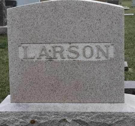 LARSON FAMILY PLOT, NELS - Lincoln County, South Dakota   NELS LARSON FAMILY PLOT - South Dakota Gravestone Photos
