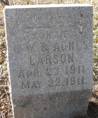 LARSON, LEROY - Lincoln County, South Dakota | LEROY LARSON - South Dakota Gravestone Photos