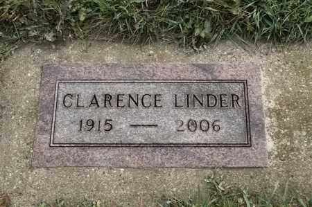 LINDER, CLARENCE - Lincoln County, South Dakota | CLARENCE LINDER - South Dakota Gravestone Photos