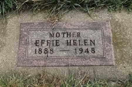 LINDER, EFFIE HELEN - Lincoln County, South Dakota | EFFIE HELEN LINDER - South Dakota Gravestone Photos