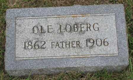 LOBERG, OLE - Lincoln County, South Dakota   OLE LOBERG - South Dakota Gravestone Photos