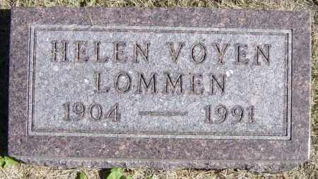 LOMMEN, HELEN - Lincoln County, South Dakota   HELEN LOMMEN - South Dakota Gravestone Photos