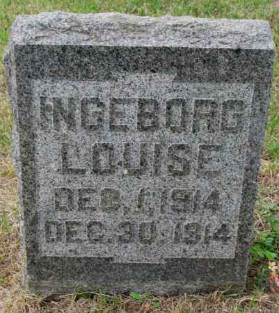 LOMMEN, INGEBORG LOUISE - Lincoln County, South Dakota   INGEBORG LOUISE LOMMEN - South Dakota Gravestone Photos