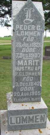 LOMMEN, MARIT - Lincoln County, South Dakota | MARIT LOMMEN - South Dakota Gravestone Photos