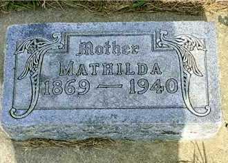 LARSSON LUNDBORG, MATHILDA - Lincoln County, South Dakota | MATHILDA LARSSON LUNDBORG - South Dakota Gravestone Photos