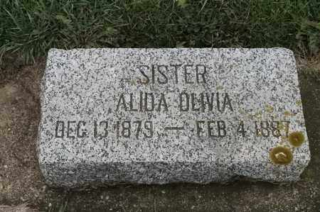 LUNDIN, ALIDA OLIVIA - Lincoln County, South Dakota | ALIDA OLIVIA LUNDIN - South Dakota Gravestone Photos
