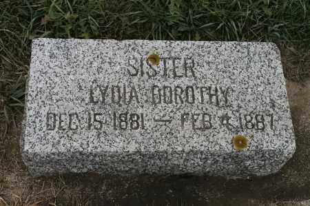 LUNDIN, LYDIA DOROTHY - Lincoln County, South Dakota | LYDIA DOROTHY LUNDIN - South Dakota Gravestone Photos